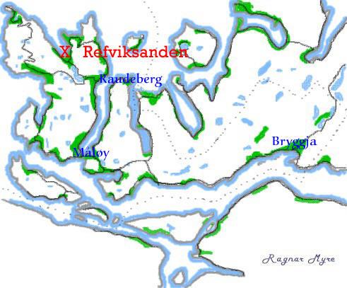refviksanden kart Velkommen Til Refviksanden refviksanden kart